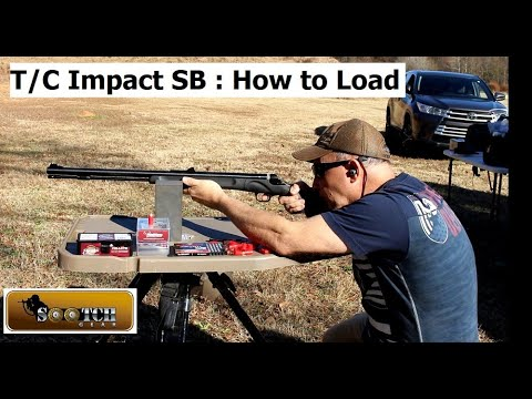 T/C Impact SB Muzzle Loader How to Load & Shoot