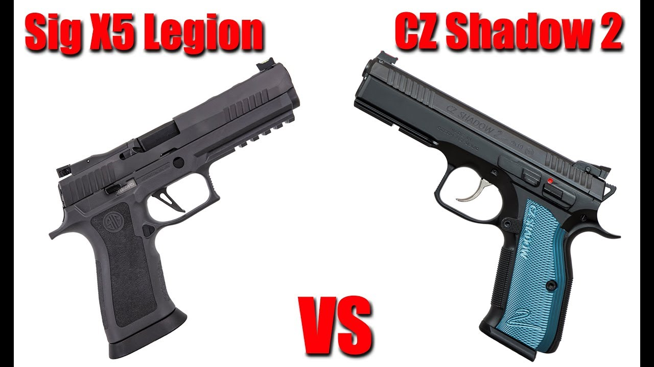 CZ Shadow 2 vs Sig P320 X5 Legion