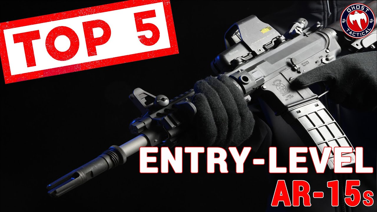 Top 5 Entry-Level AR15
