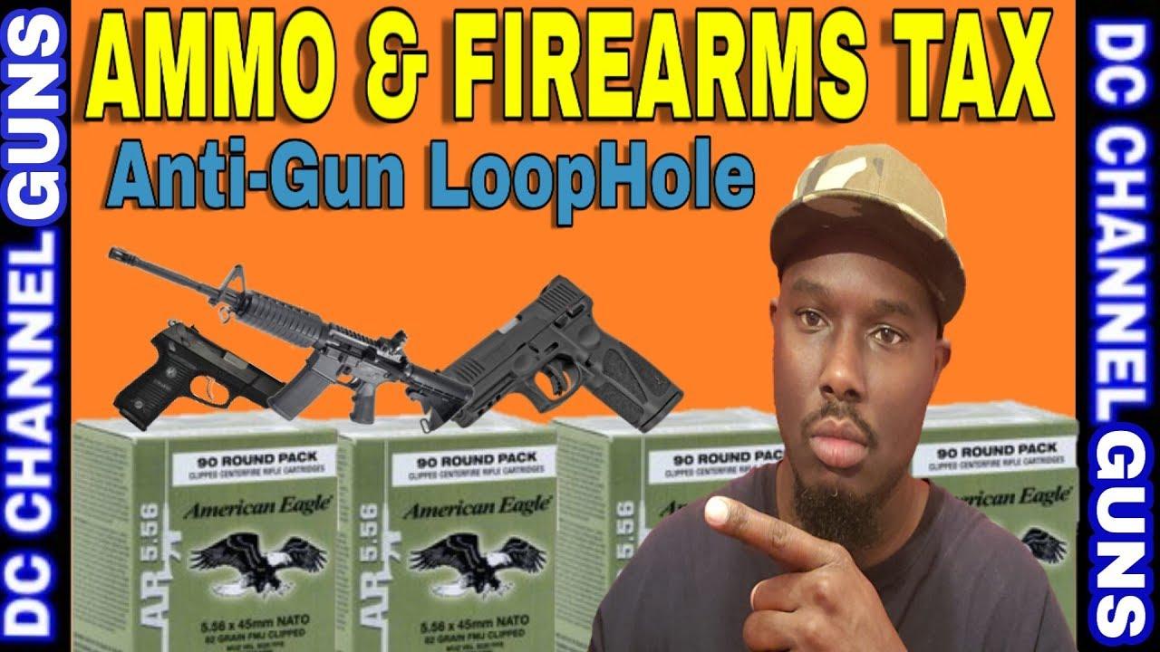 Anti-Gun Tactics   2nd Amendment   Tacoma Washington Firearm & Ammo Tax Bill   GUNS