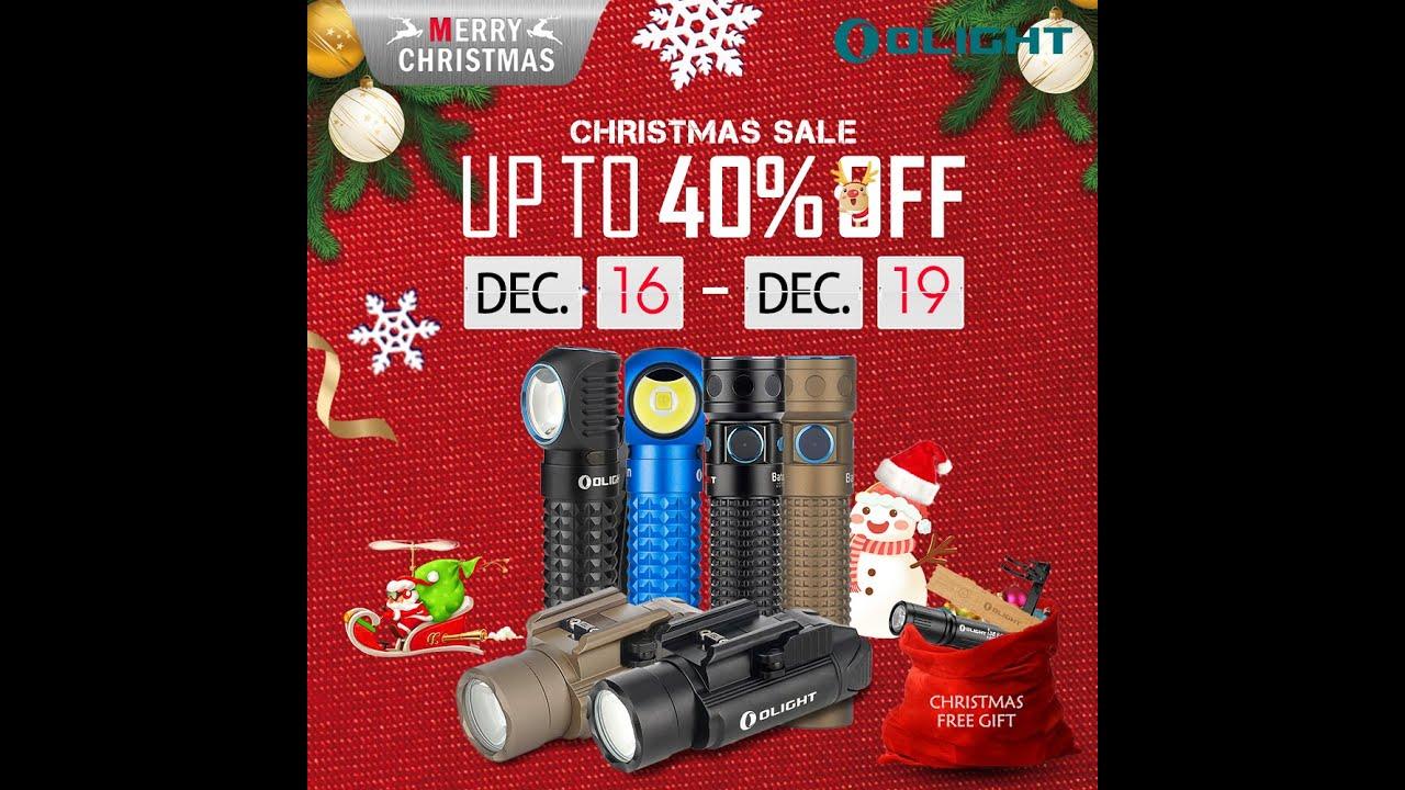 Olight Christmas Sale 2019