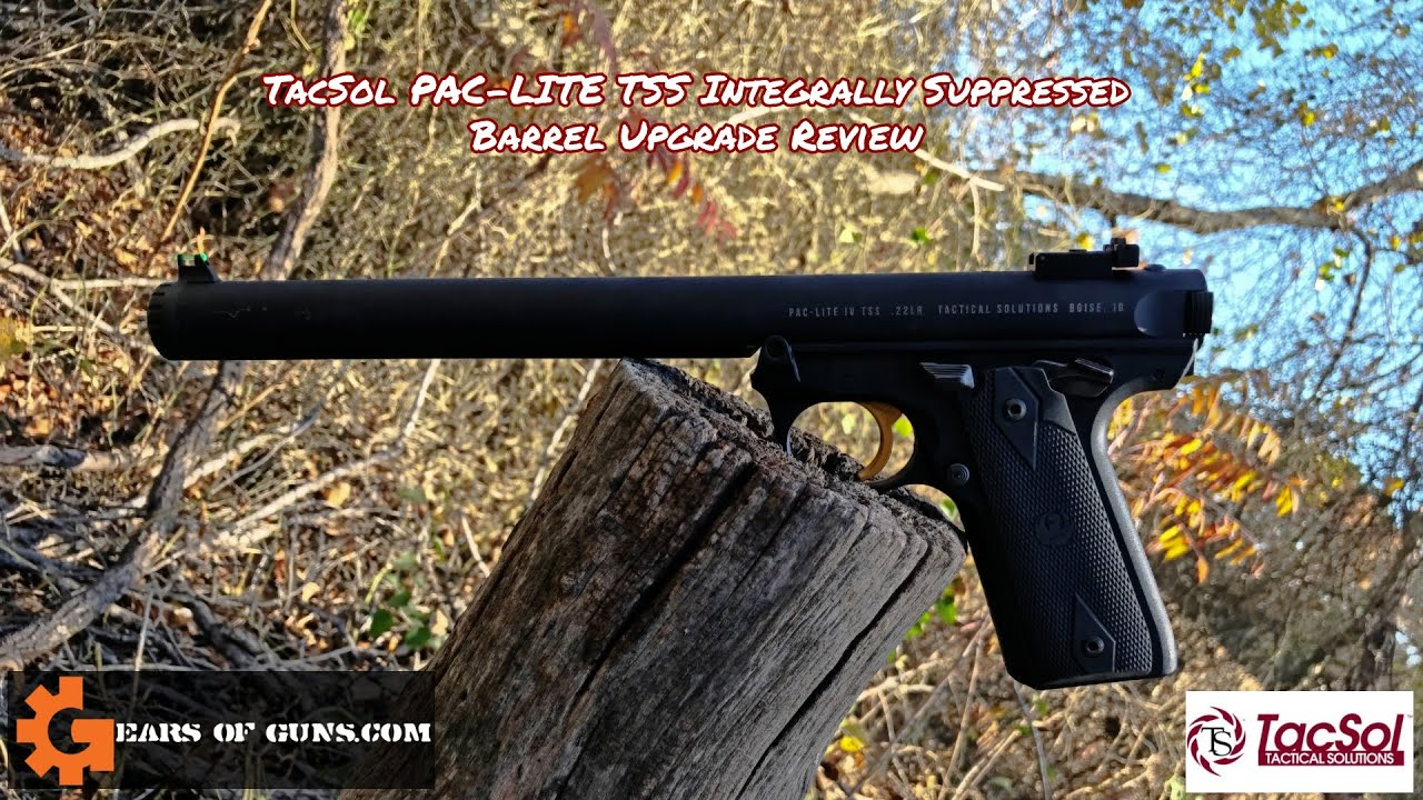 TacSol PAC-LITE TSS Integrally Suppressed Barrel Upgrade Review