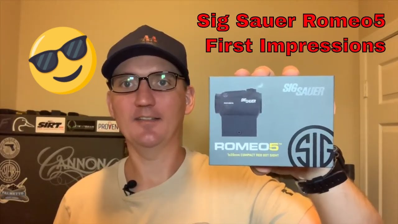 Sig Sauer Romeo5 2MOA Red Dot Sight - Unboxing and Initial Impressions
