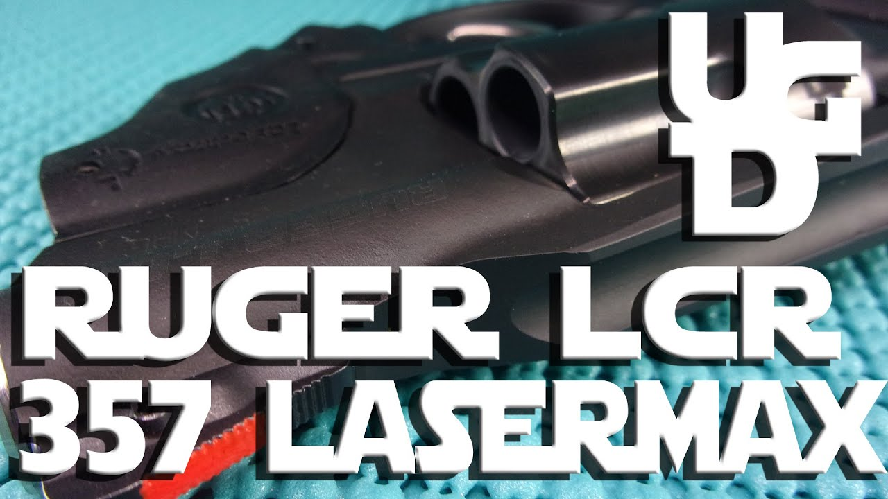 Ruger LCR 357 Magnum 1st Look Review with Laser