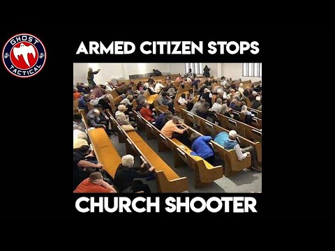 Armed Citizen Stops Church Shooting:  Armed Citizen LIVE
