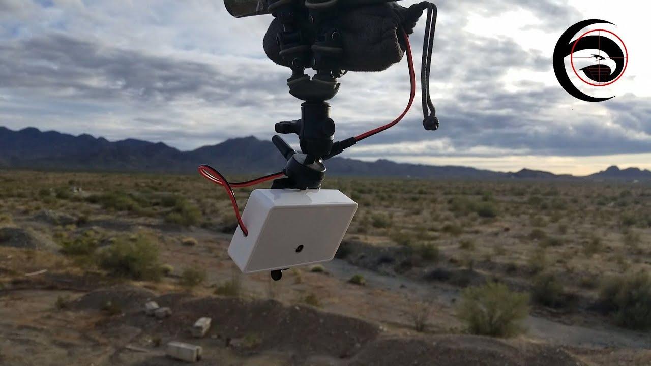 WiFi 1080p Target Camera Available at DPG | Eagle Eye Target Camera, SKS at 325 Yards