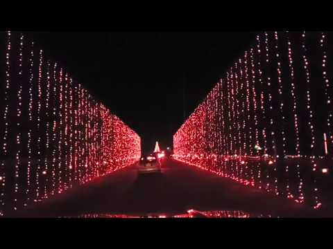 Live At The National Trails Christmas Lights Show