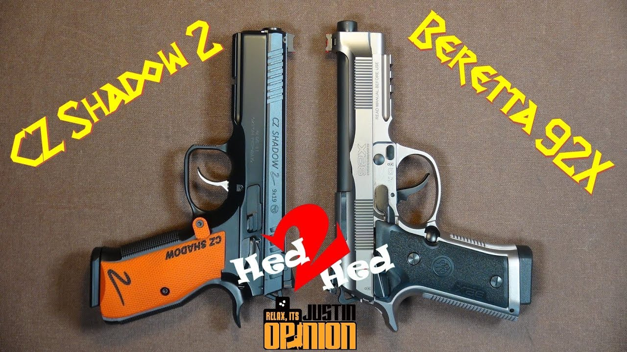 Beretta 92X Performance vs. CZ Shadow 2