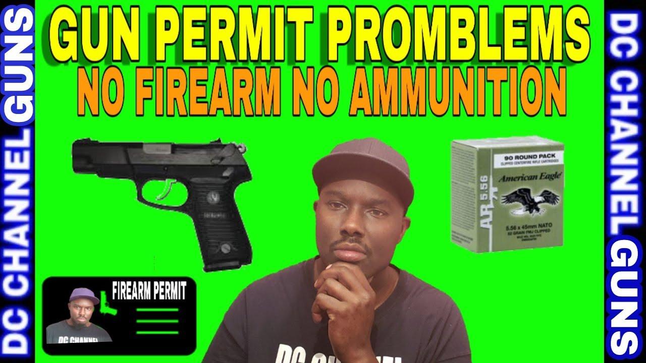 Illinois Gun Permits Problems No Firearm No Ammunition Gun Control   GUNS