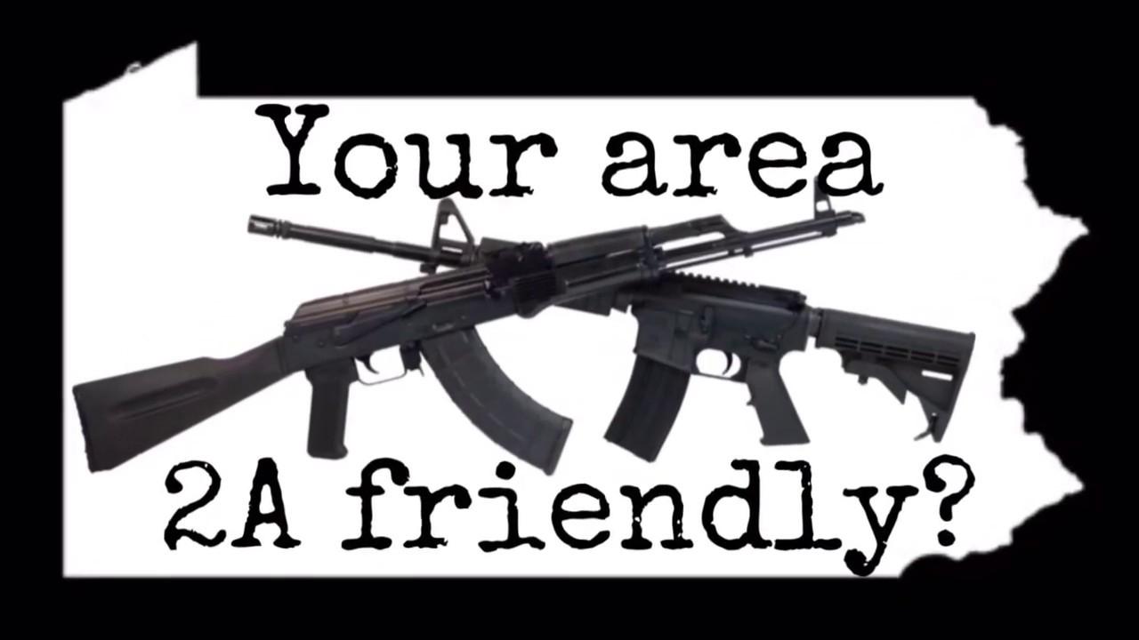 Living in a firearm friendly area?