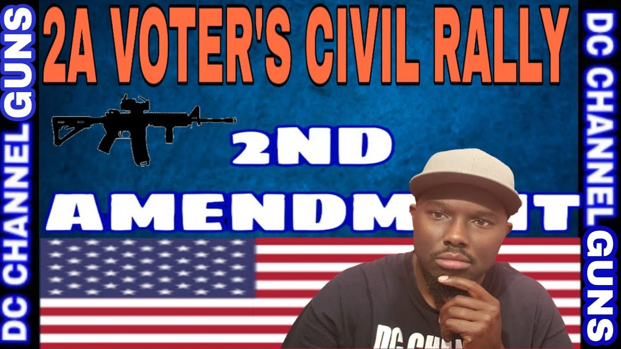 Mini 2A Rally   2nd Amendment Supporters   Sanctuary 2A Cities   GUNS