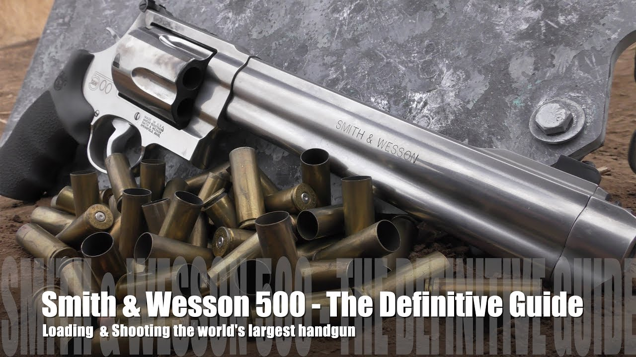 Smith & Wesson 500 - The Definitive Guide to Shooting Cheaply