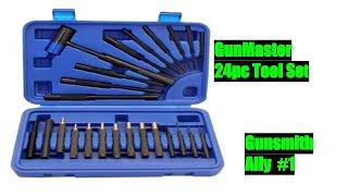 Gunmaster 24pc Tool Set   Gunsmith Ally #1