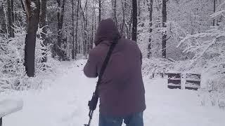 AK-47 Snow Angels - Low Crawl