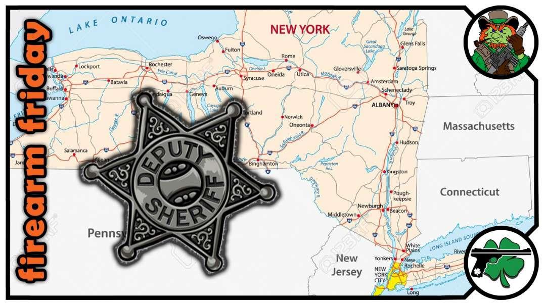 Retired NY Sheriff Deputy Gary Dievendorf On Firearm Friday.mp4