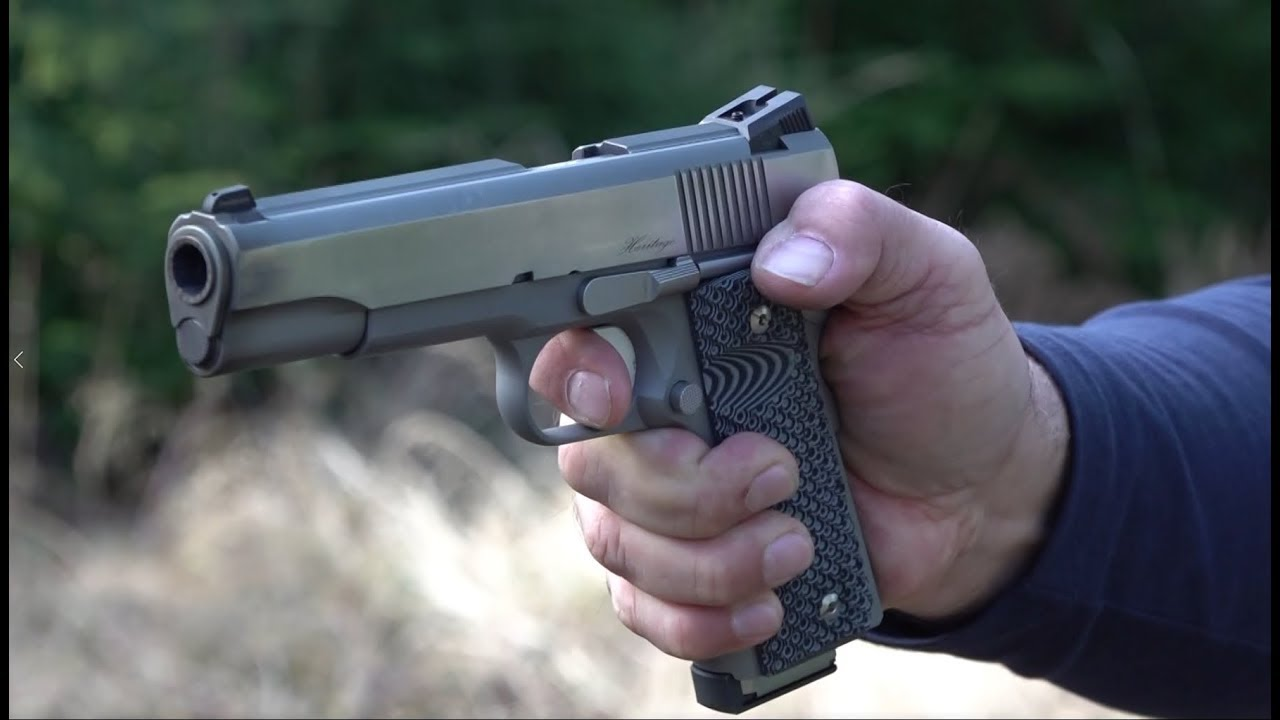 Dan Wesson Heritage 1911 with LOK Grips