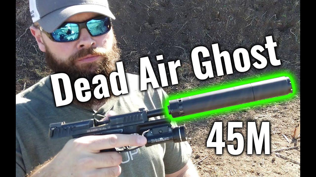 Dead Air Ghost 45M Pistol Suppressor