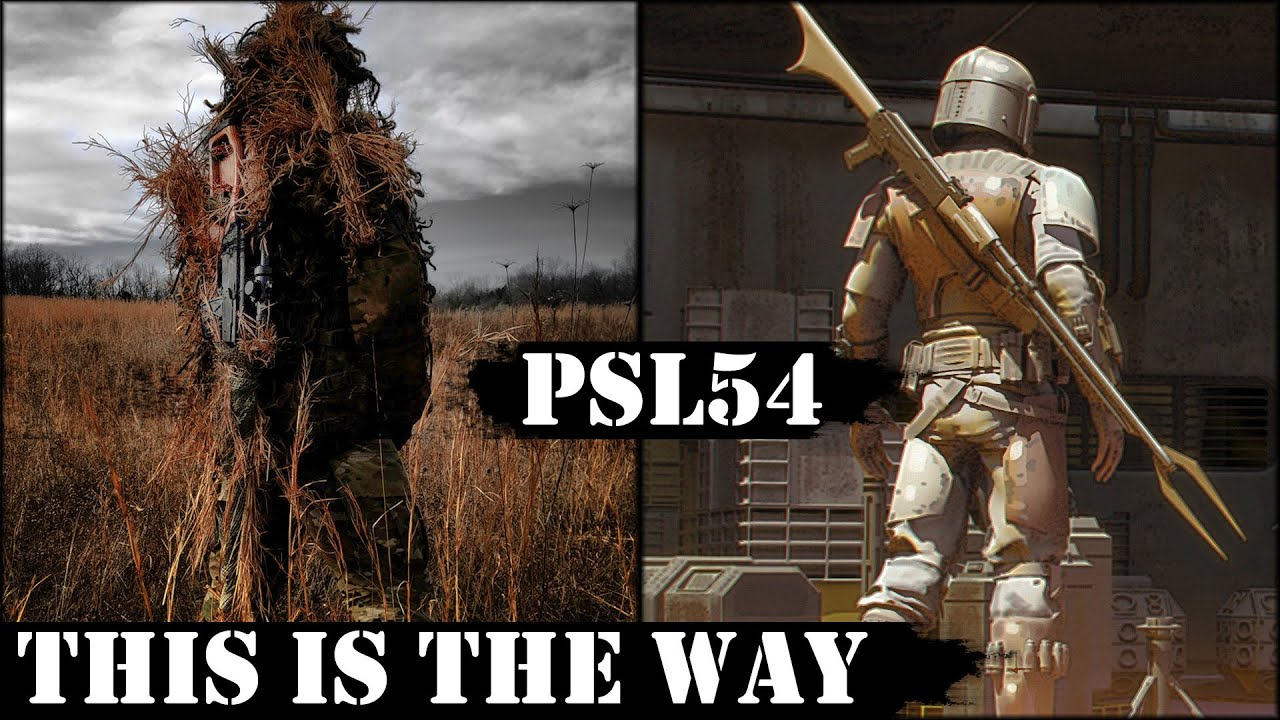 This is the Way! Poor Man's Dragunov - PSL54!