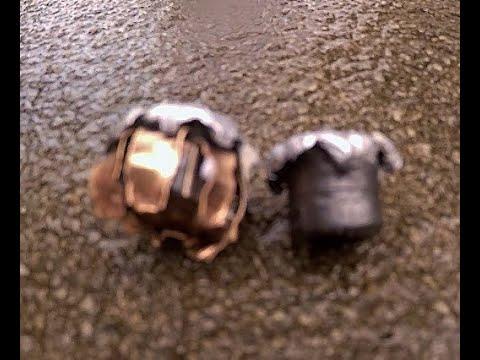 Water jug ballistics, Golden Saber 230gr vs Winchester USA 230gr, 45ACP