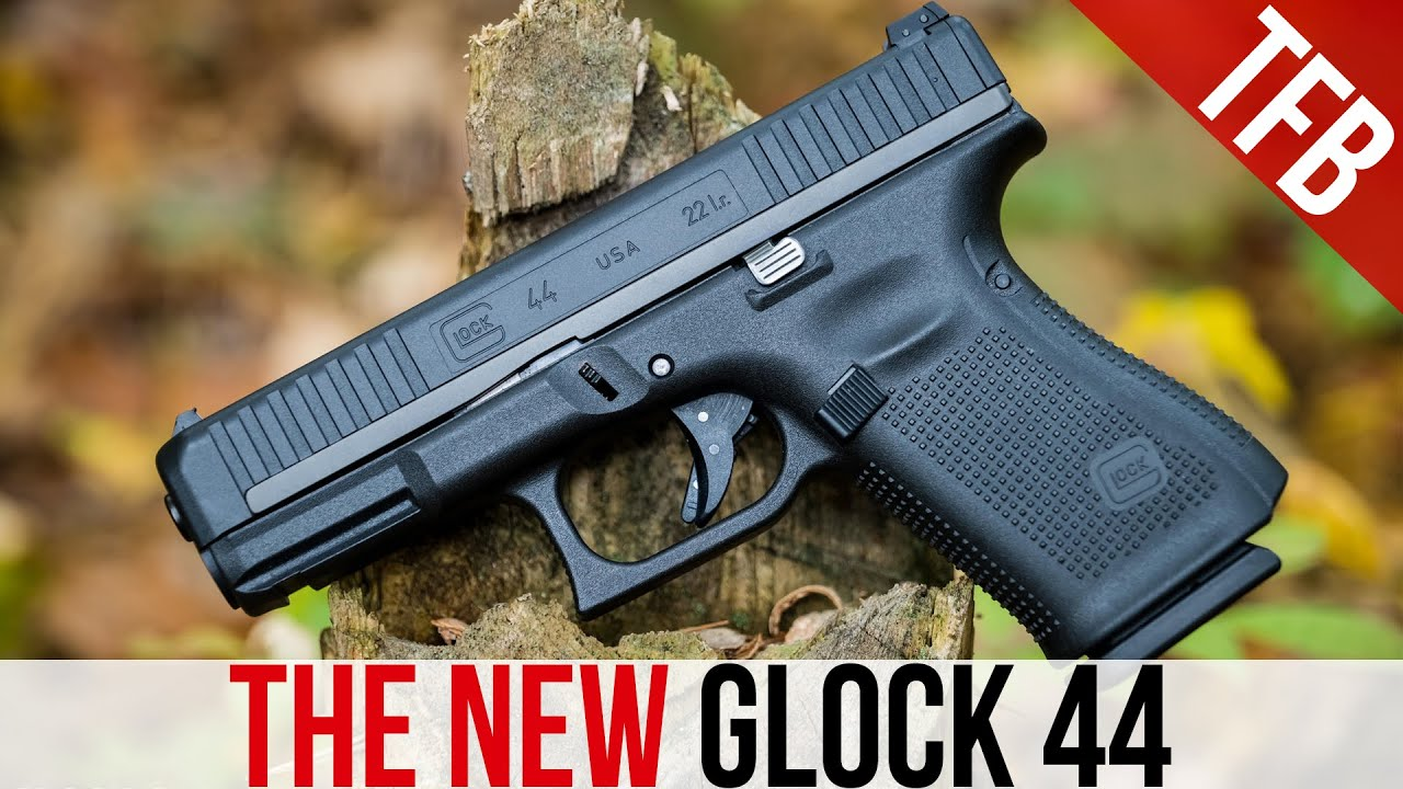 The NEW Glock 44! Glock's First .22 LR Rimfire Pistol