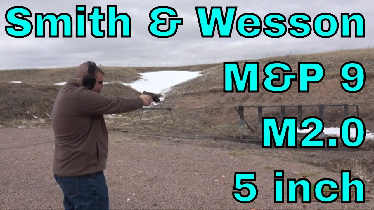 Smith & Wesson M&P 9 M2.0 5 inch - Flat Dark Earth - First Shots