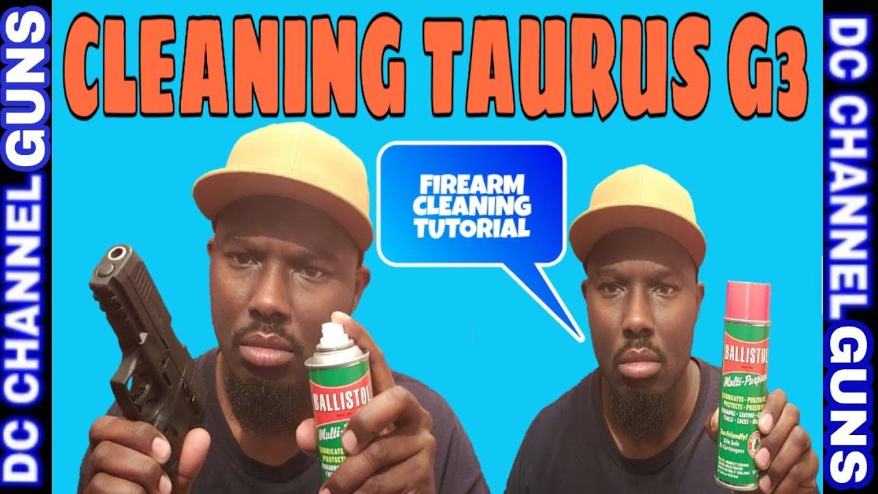 New Taurus 9mm G3 G2C Pt111 Millennium Firearms Cleaning Tutorial   GUNS