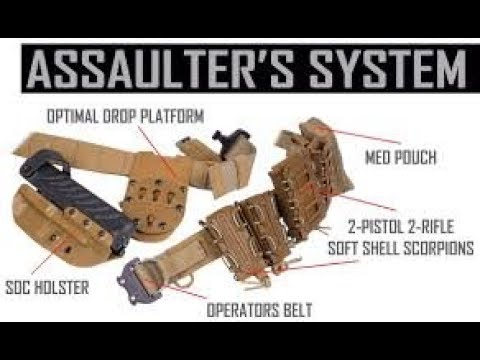 G-CODE ASSAULTERS BELT SYSTEM