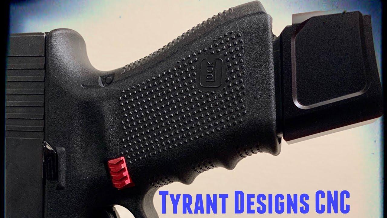 Tyrant CNC | Glock Mag extension