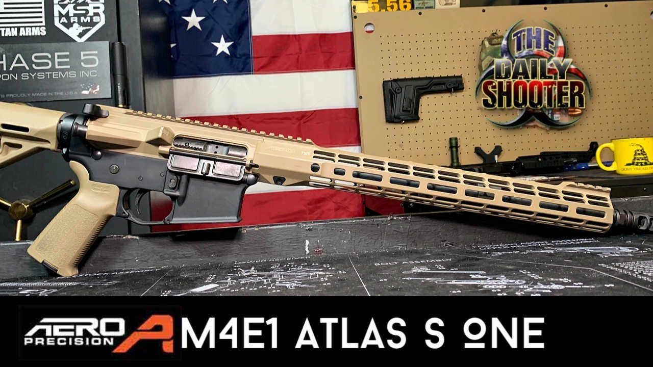 Aero Precision M4E1 Atlas S One Complete Upper Review