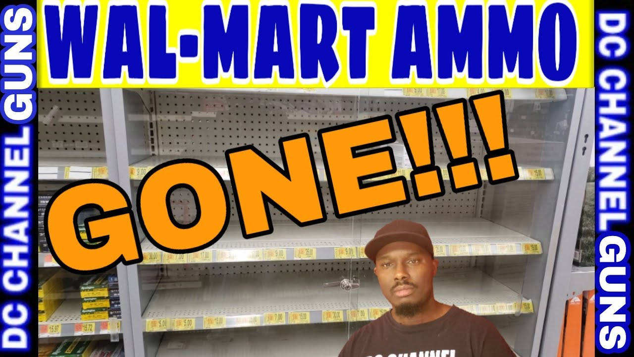 WAL-MART Ammo Close-Out Sale!!! Gone!!! | GUNS