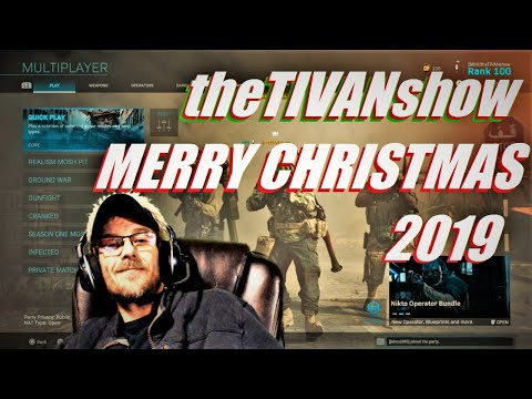 MERRY CHRISTMAS and HAPPY NEW YEAR  from TIVAN playing some CALL OF DUTY 2019