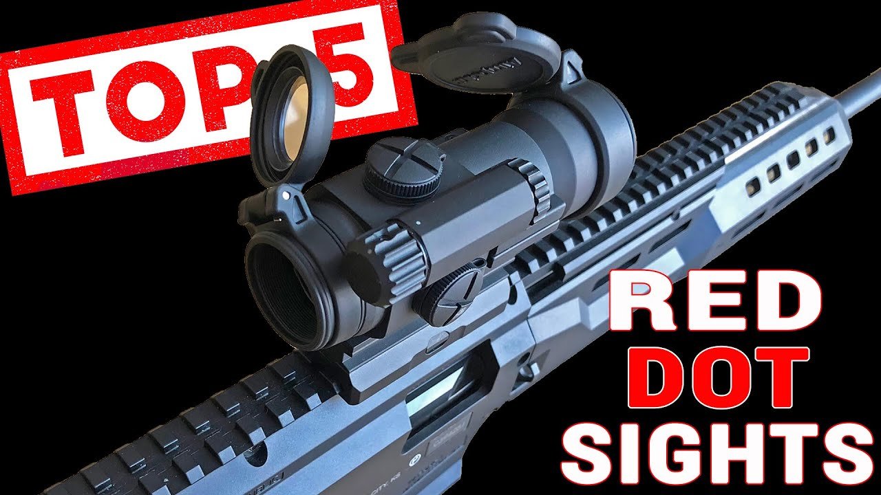 Top 5 Red Dot Sights For AR-15s