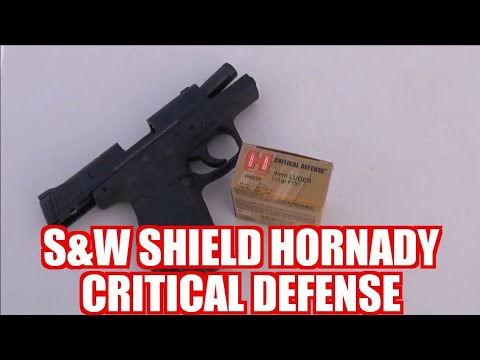 Smith and Wesson 9mm M&P Shield Critical Defense Part 1 With Kentucky Patriot