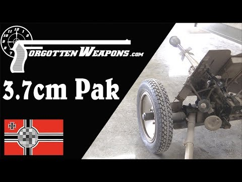 3.7cm PAK - Germany's Basic WWII Antitank Gun
