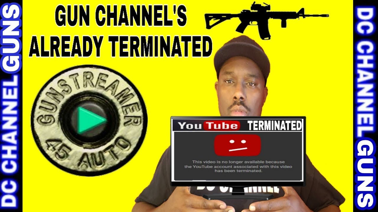 Gun Streamer.com Sign Up Now | Social Media Account Terminated | Gun Channel's First Targets | GUNS