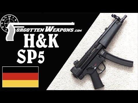 H&K's New SP5 - A Civilian Semiauto MP5 Pistol