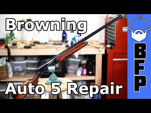 Browning Auto 5- Gunsmith Special