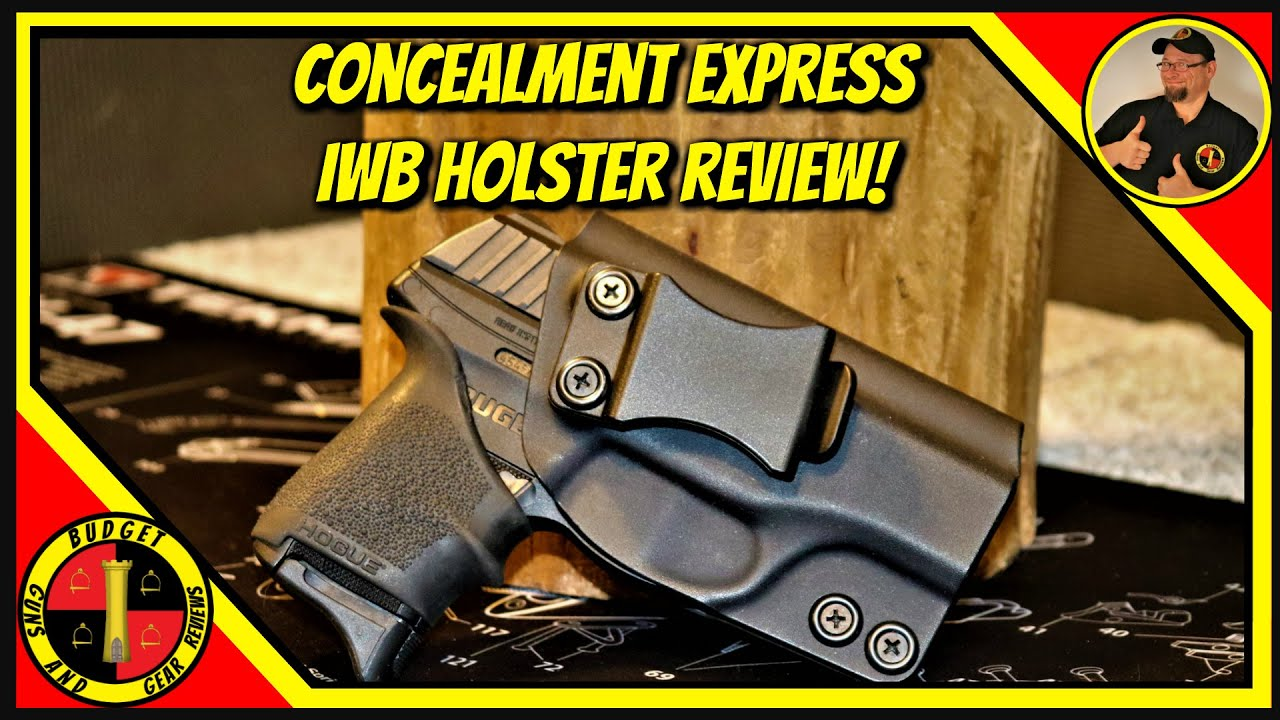 Concealment Express IWB Holster Review