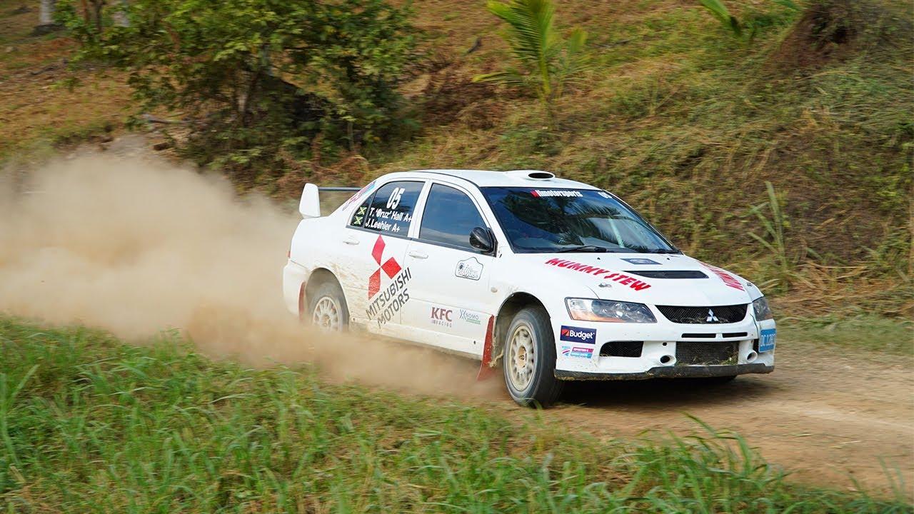 Rally Jamaica 2019 on board with Thomas Cruz Hall in the car