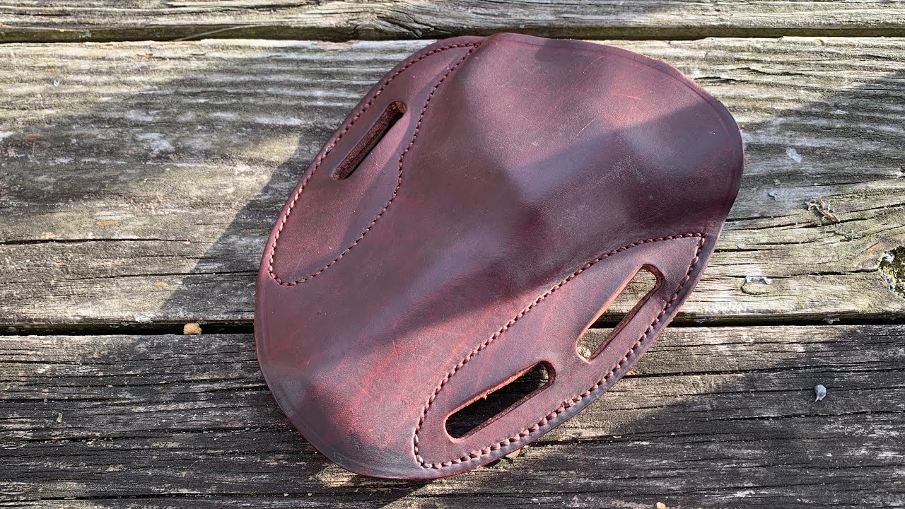 Full review of the Simply Rugged sourdough pancake holster (feat. S&W 329pd