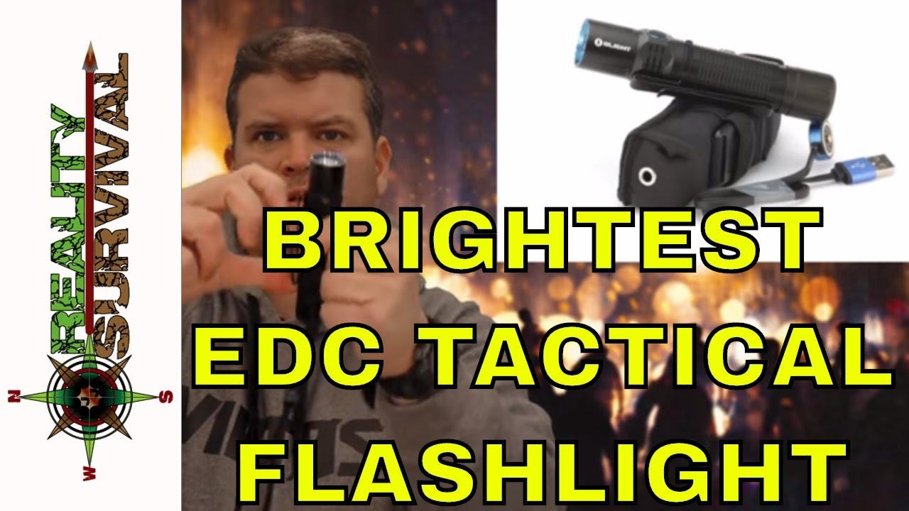 Brightest EDC Tactical Flashlight! - Olight M2R Warrior