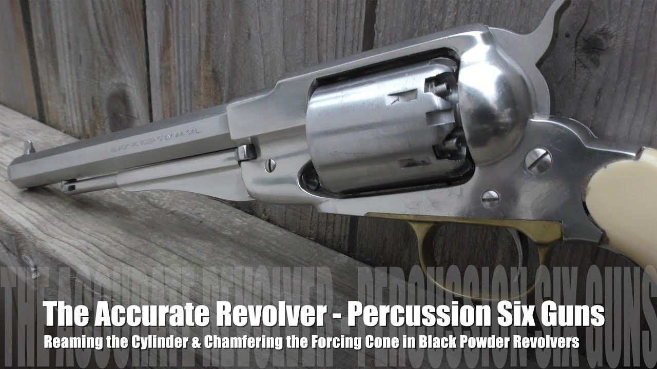 The Accurate Revolver - Percussion Guns