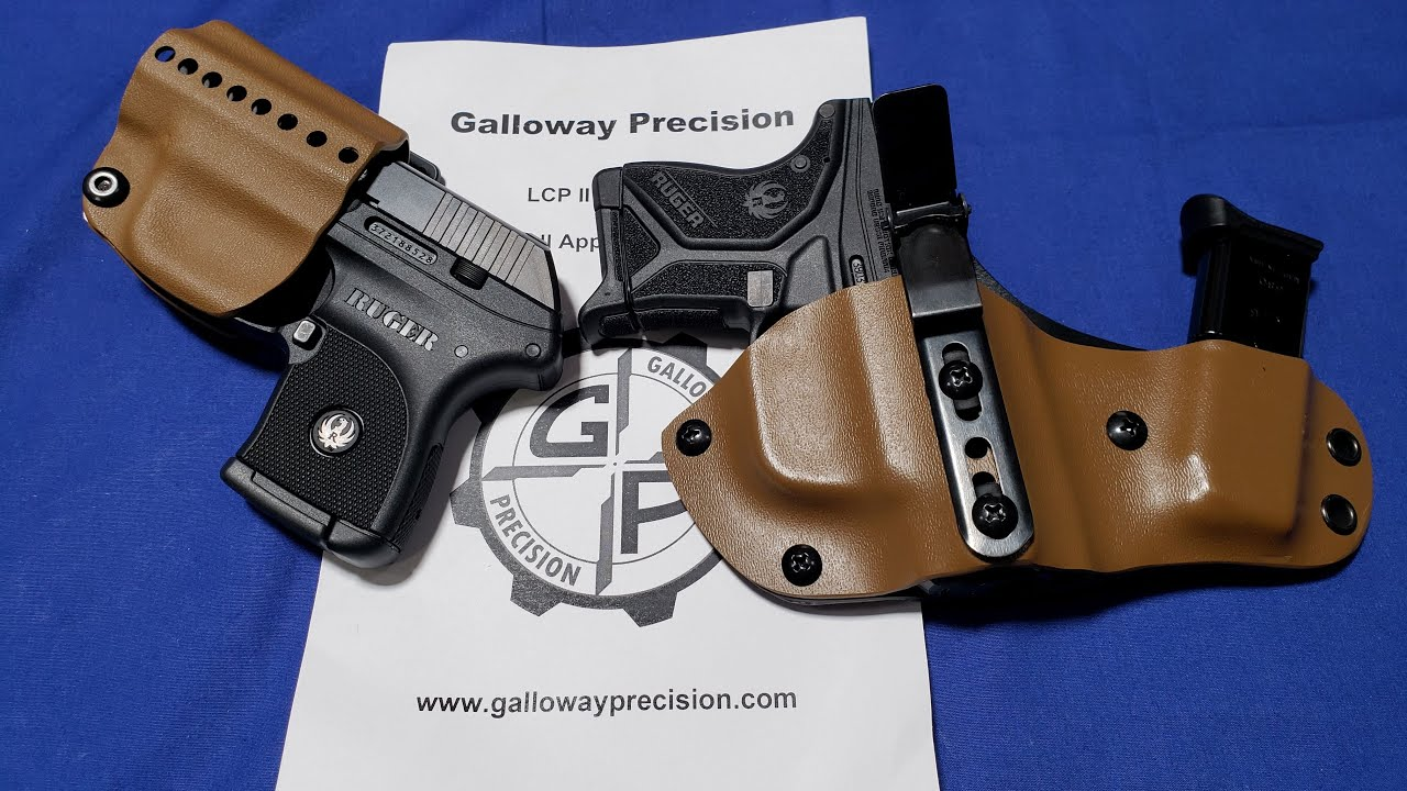 Holster Your Ruger LCP II with Galloway Precision Holsters