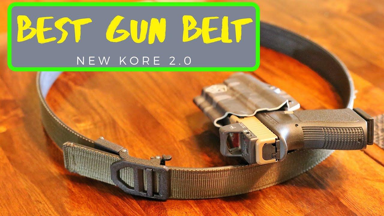 Best Concealed Carry Gun Belt - Kore Essentials 2.0 Gun Belt Review