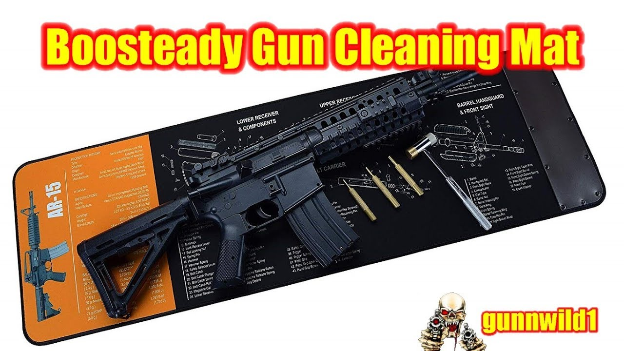 Boosteady Gun Cleaning Mat