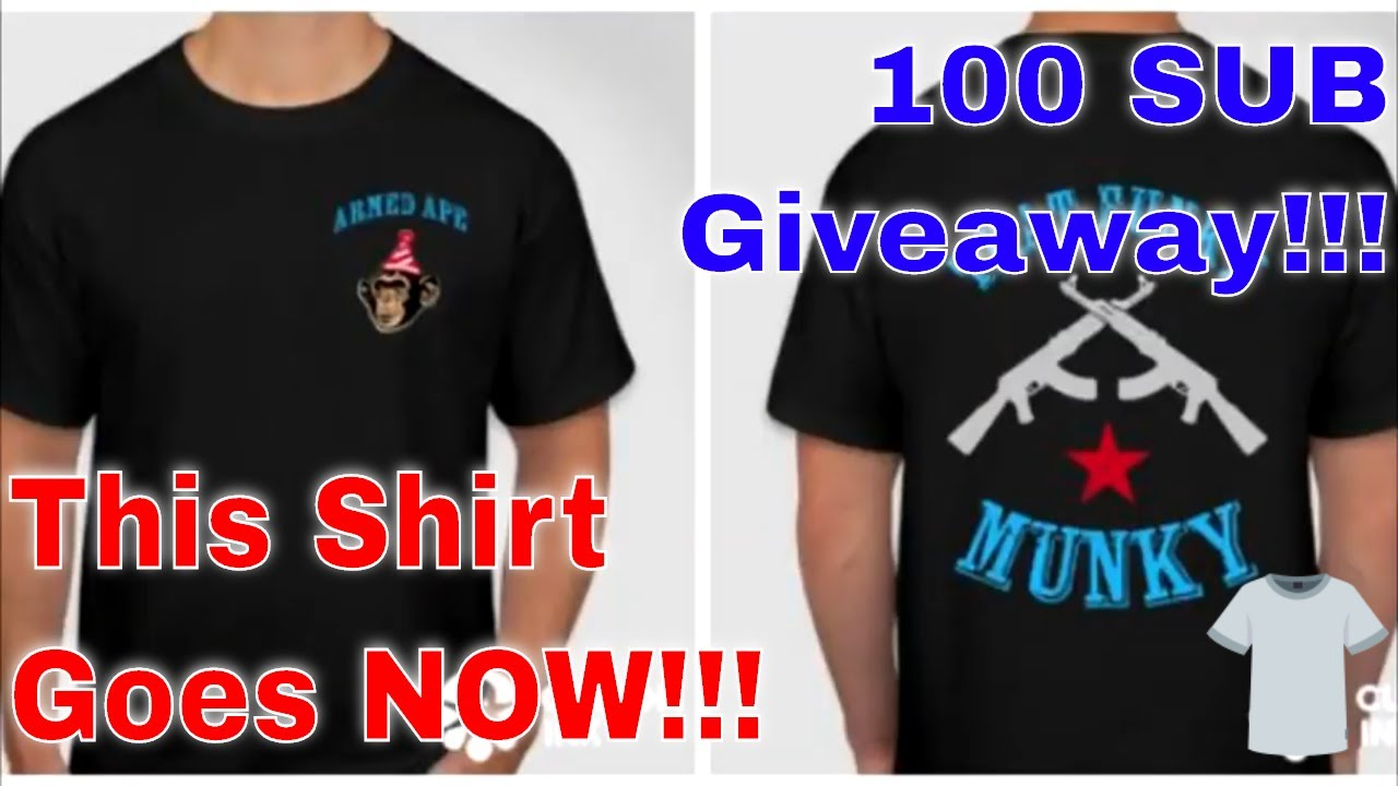 Give Away Drawing!!!  The shirt is GONE!!!