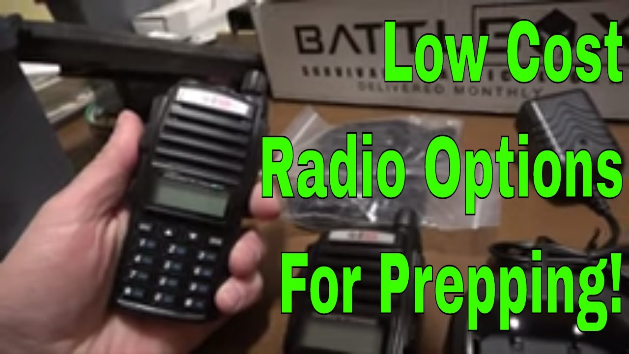 Low Budget Radio Options For Preppers