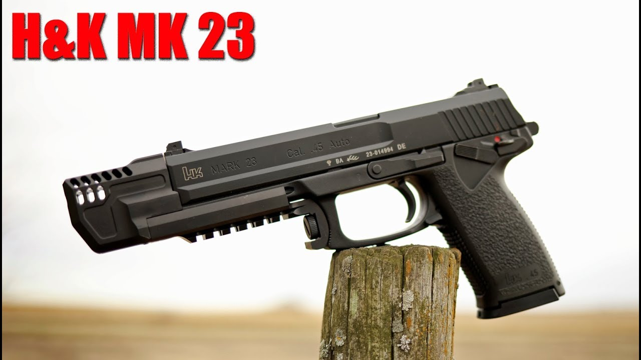 H&K Mark 23 First Shots