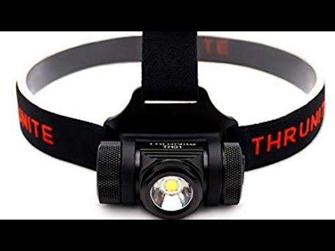 ThruNite TH01 - 1500 Lumens! Rechargeable LED Headlamp - CREE XHP50 LED - Super Bright 18350 battery