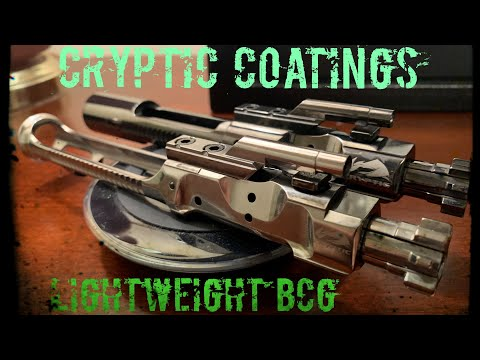 Lightweight BCG | Cryptic Coatings